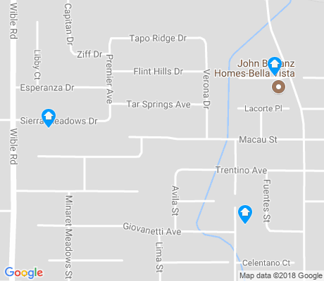 map of Stone Meadows apartments for rent