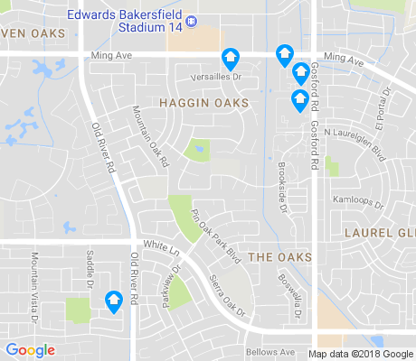 map of The Oaks apartments for rent