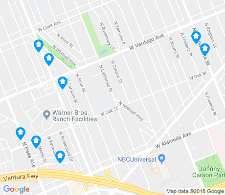 map of McNeil apartments for rent