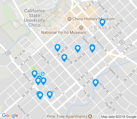 South Campus Chico Apartments for Rent and Rentals - Walk Score on