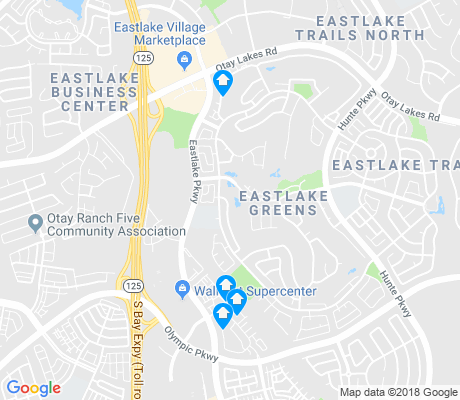 map of Eastlake Greens apartments for rent
