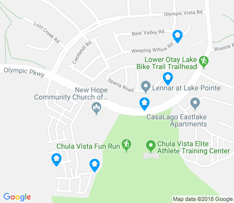 map of Eastlake Vistas apartments for rent