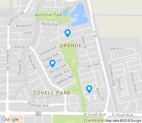 map of Covell Park apartments for rent
