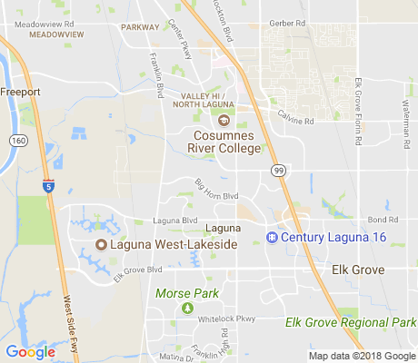 map of Laguna Creek Village apartments for rent