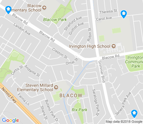 map of Blacow apartments for rent