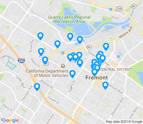 map of Centerville apartments for rent