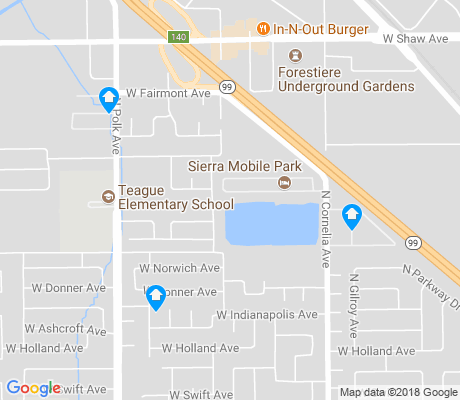 map of Highway City apartments for rent