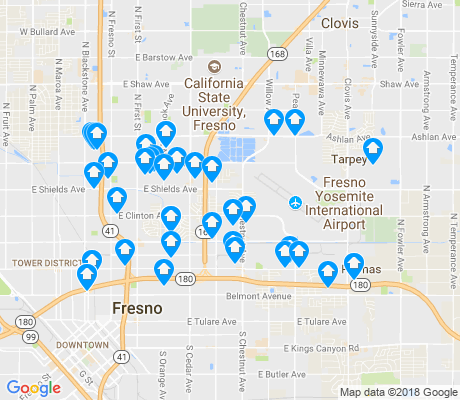 map of McLane apartments for rent