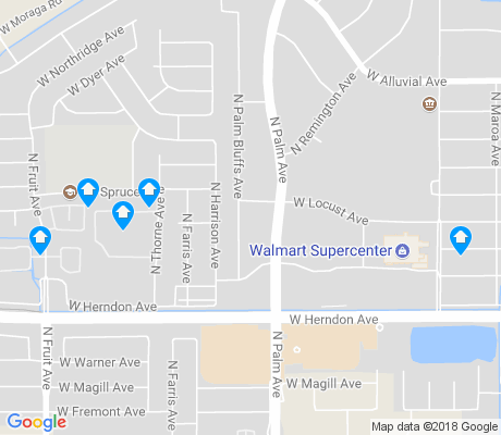 map of Pinedale apartments for rent