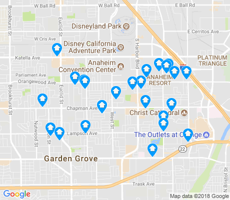 map of 92840 apartments for rent