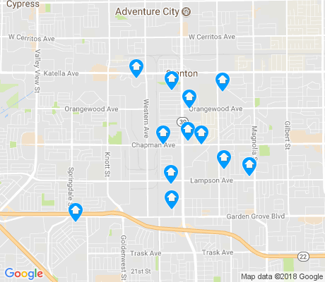 map of 92841 apartments for rent