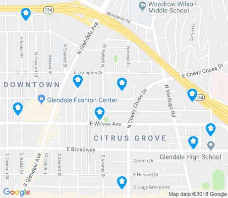 map of Citrus Grove apartments for rent