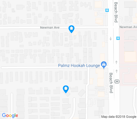 map of Oak View apartments for rent