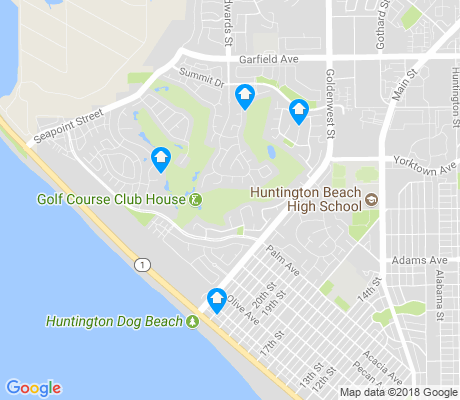 map of Seacliff apartments for rent