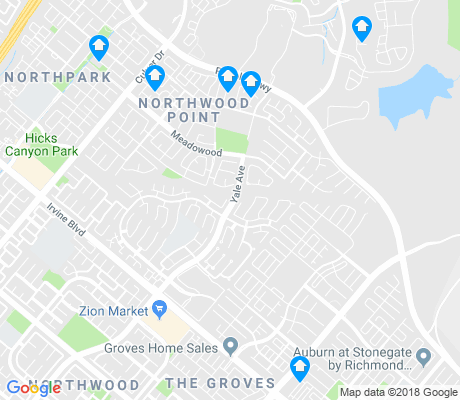 map of Northwood Point apartments for rent