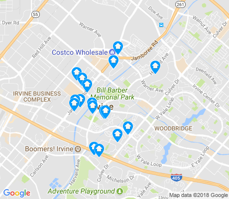 map of Westpark apartments for rent