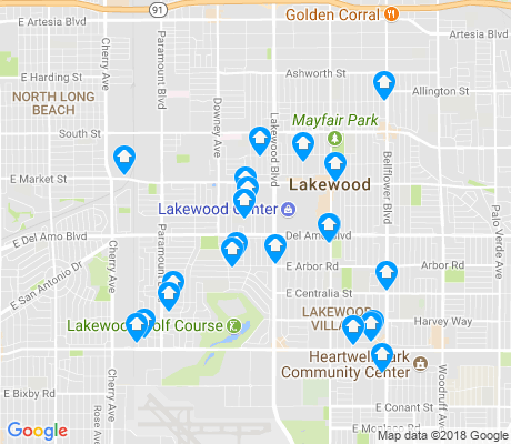 map of 90712 apartments for rent