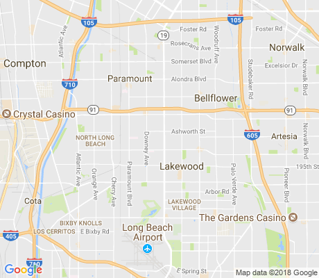 map of Lakewood Gardens apartments for rent