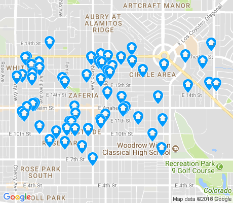 90804 Zip Code Map.90804 Long Beach Apartments For Rent And Rentals Walk Score