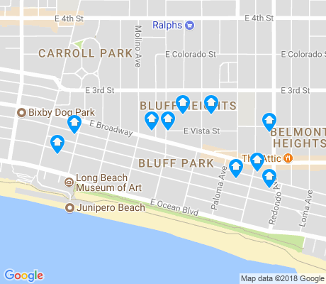 map of Bluff Park apartments for rent