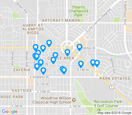 map of Bryant School apartments for rent