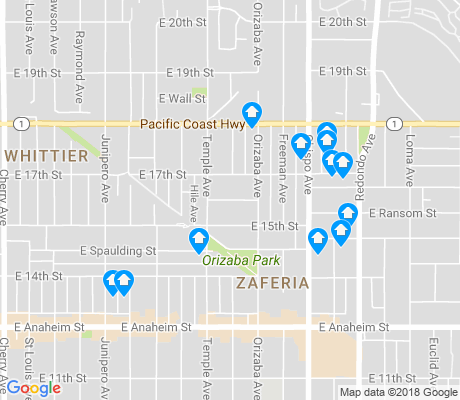map of Lee School apartments for rent