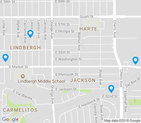 map of Lindbergh apartments for rent