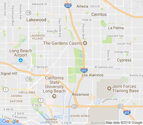 map of Rancho Estates apartments for rent