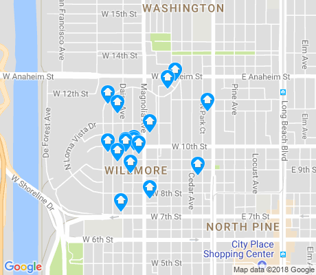 map of Willmore City apartments for rent