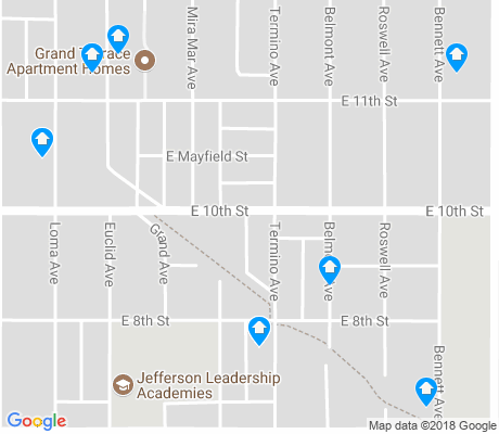 map of Wilson High apartments for rent