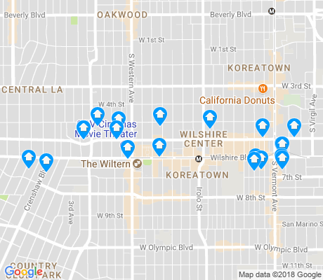 90010 Zip Code Map.90010 Los Angeles Apartments For Rent And Rentals Walk Score