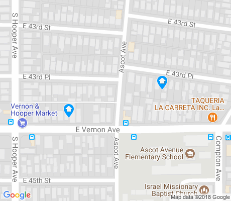 map of Central Alameda apartments for rent