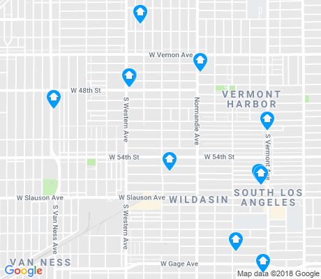 map of Congress Central apartments for rent