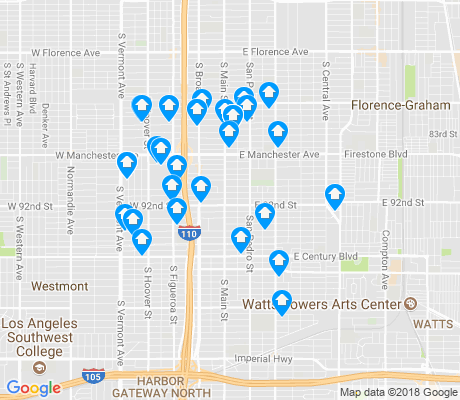 map of Congress Southeast apartments for rent