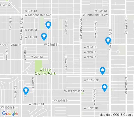 map of Congress Southwest apartments for rent