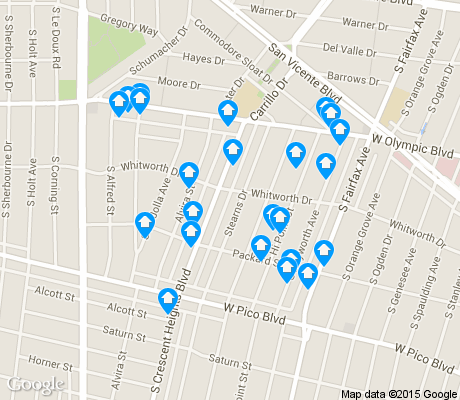 map of South Carthay apartments for rent