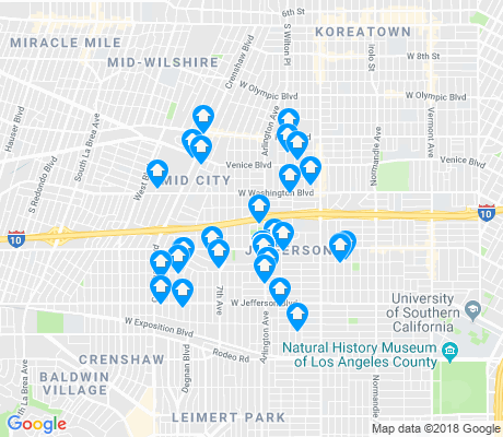 map of UNNC apartments for rent