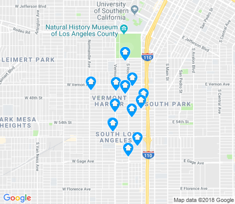 map of Voices of 90037 apartments for rent