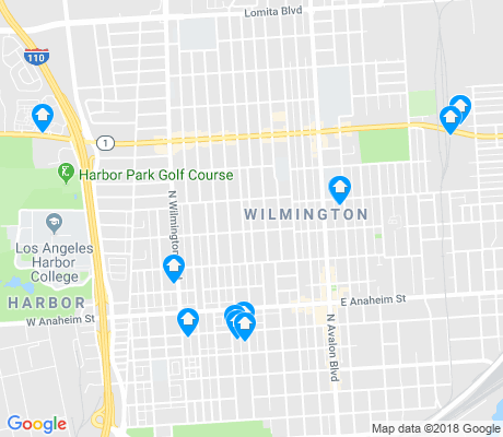 map of Wilmington apartments for rent