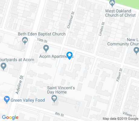 map of Acorn Industrial apartments for rent