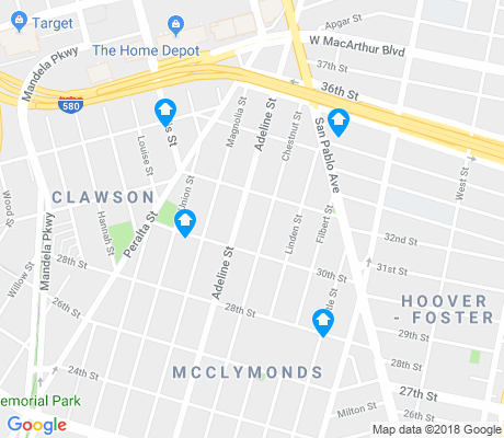 map of Clawson apartments for rent