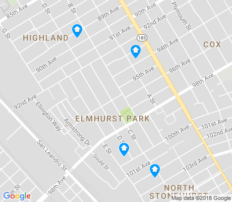map of Elmhurst Park apartments for rent