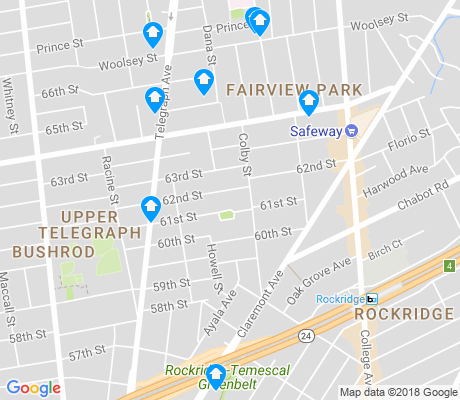 map of Fairview Park apartments for rent