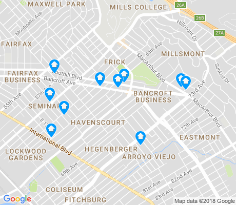 map of Havenscourt apartments for rent