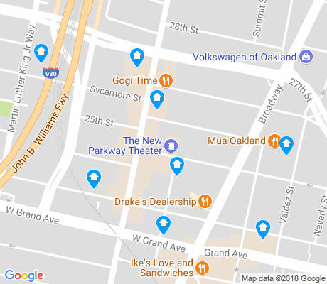 map of Koreatown-Northgate apartments for rent