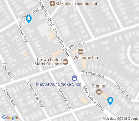 map of Las Palmas apartments for rent