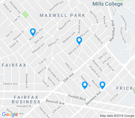 map of Maxwell Park apartments for rent
