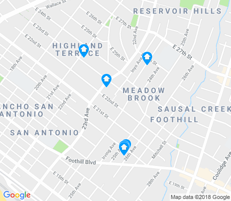 map of Meadow Brook apartments for rent