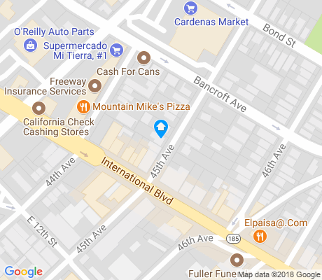 map of Melrose apartments for rent