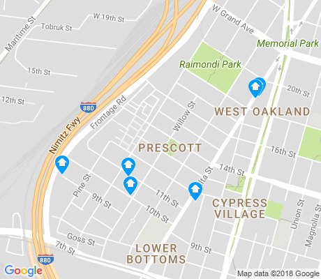 map of Prescott apartments for rent